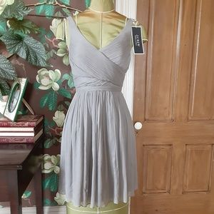 J. CREW Heidi Formal Silk Chiffon Dress